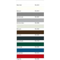 Palette RAL couleurs série industrielle Hormann