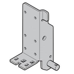 Plaque de base suspension basse galvanisée droite Hormann Référence 3040793