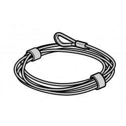 Cable de traction 5,5mm Lg 12m Hormann Référence 3095599