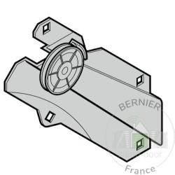 Etai de couple complet avec galet à câble Ferrures L et BL, gauche Hormann Référence 3047434 - 4015137