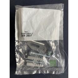 Kit de pattes d'ancrage à visser 1 droite et 1 gauche Hormann Référence 3043507