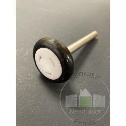 Roulette basse axe 110mm Ferrure Z et BZ Hormann Référence 3047259