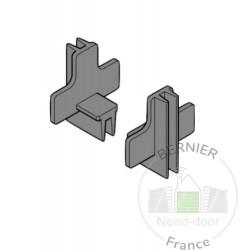 Capuchon pour joint de portillon Hormann Référence 3050983