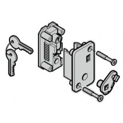 Serrure à cylindre profilé, TS 42.5 mm (cylindre inclus) pour porte Hormann Référence 3088641